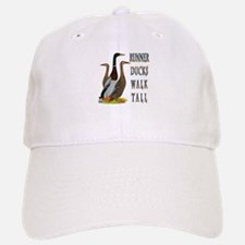 Runner Ducks Walk Tall Baseball Baseball Baseball Cap
