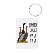 Runner Ducks Walk Tall Keychains