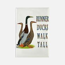 Runner Ducks Walk Tall Rectangle Magnet