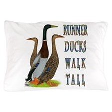 Runner Ducks Walk Tall Pillow Case