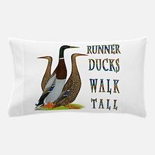 Runner Ducks Walk Tall Pillow Case