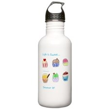 Cute Cupcakes Design Water Bottle