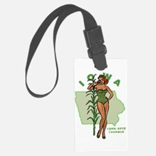Faded Iowa Pinup Luggage Tag