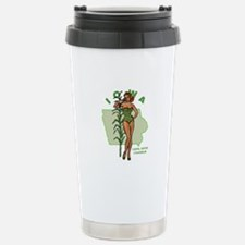 Faded Iowa Pinup Travel Mug