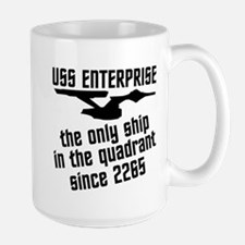Funny Star Trek Large Mug