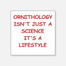 ornithology Sticker