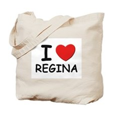 I love Regina Tote Bag