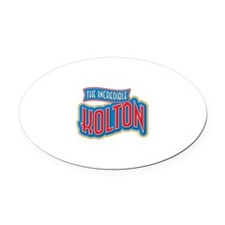 The Incredible Kolton Oval Car Magnet
