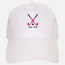 Personalized Field Hockey Baseball Baseball Cap