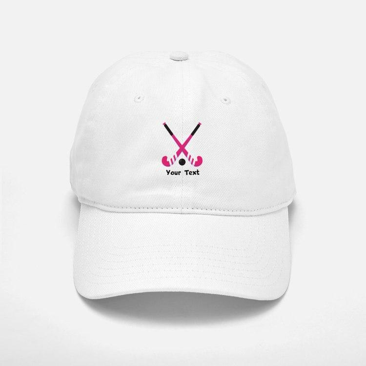 Personalized Field Hockey Baseball Baseball Cap