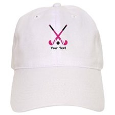 Personalized Field Hockey Baseball Cap