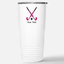 Personalized Field Hockey Thermos Mug