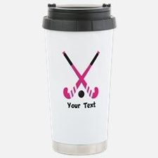 Personalized Field Hockey Travel Mug
