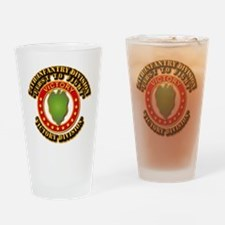 Army - 24th INF Div - DUI Drinking Glass