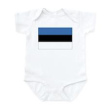 Estonia Flag Infant Bodysuit