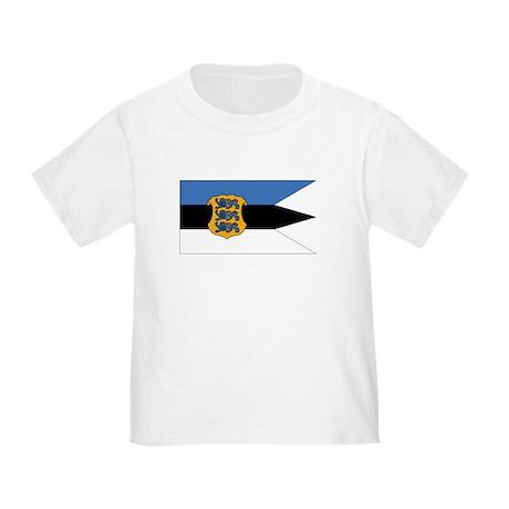 Estonia Naval Ensign Toddler T-Shirt