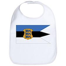 Estonia Naval Ensign Bib