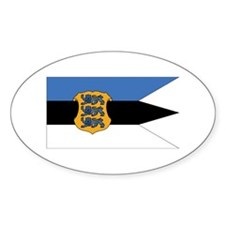 Estonia Naval Ensign Decal