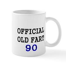 OFFICIAL OLD FART 90 Mug
