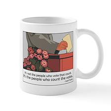 """Stalin Voting Quote"" Mug"