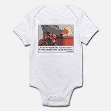 """Stalin Voting Quote"" Infant Bodysuit"