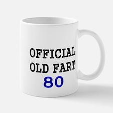 OFFICIAL OLD FART 80 Mug