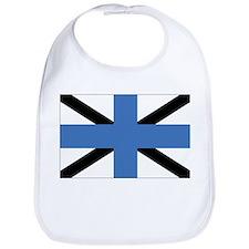 Estonia Naval Jack Bib