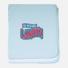 The Incredible Landyn baby blanket