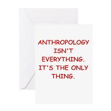 anthropology Greeting Card