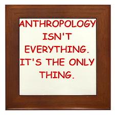 anthropology Framed Tile