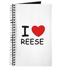 I love Reese Journal