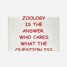 zoology Rectangle Magnet