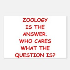 zoology Postcards (Package of 8)