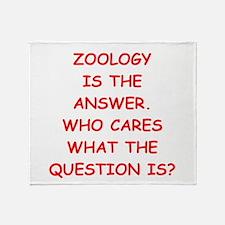 zoology Throw Blanket