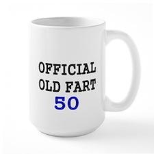 OFFICIAL OLD FART 50 Mug