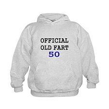 OFFICIAL OLD FART 50 Hoodie