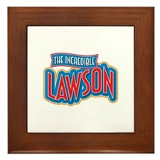 The Incredible Lawson Framed Tile