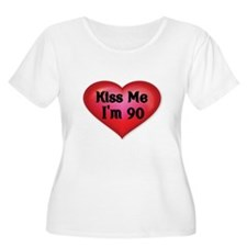 Kiss Me Plus Size T-Shirt