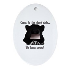 Sith Cow Oval Ornament
