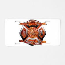 FD Seal.png Aluminum License Plate