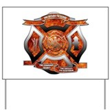 Firefighter Yard Signs