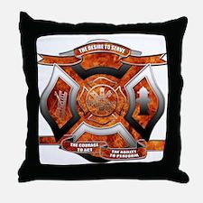 FD Seal.png Throw Pillow
