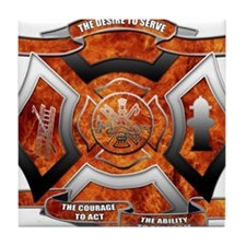 FD Seal.png Tile Coaster