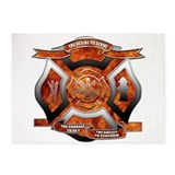 Firefighter 5x7 Rugs