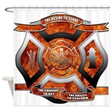FD Seal.png Shower Curtain