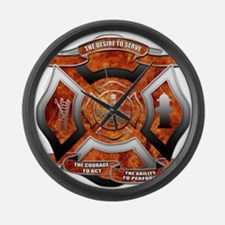 FD Seal.png Large Wall Clock