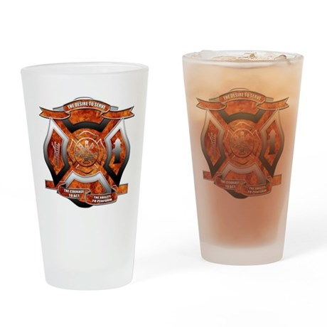 FD Seal.png Drinking Glass