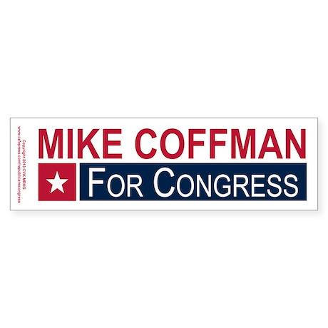 Elect Mike Coffman Sticker (Bumper)