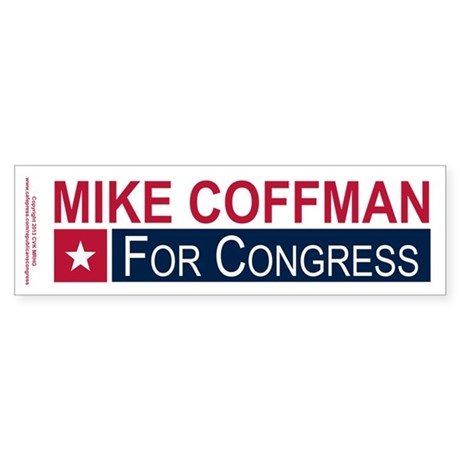 Elect Mike Coffman Sticker (Bumper 10 pk)