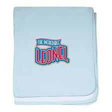 The Incredible Leonel baby blanket